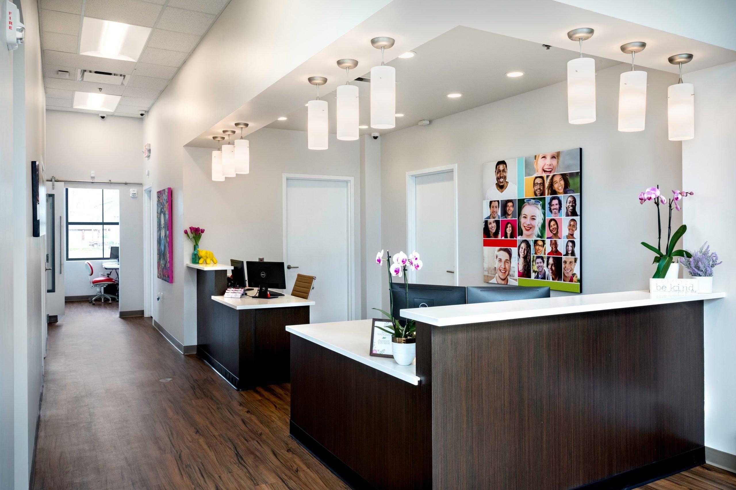 Atlanta Orthodontist Office Reception Area