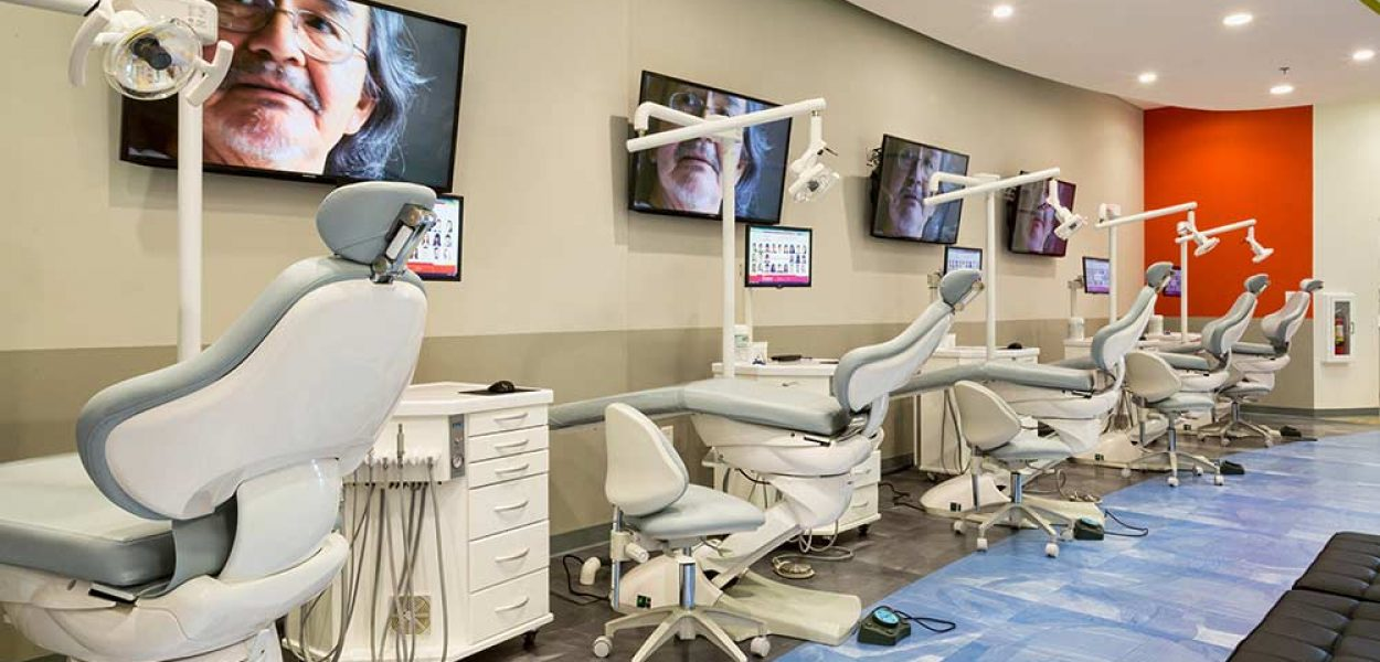 Orthodontic treatment room at Braces Braces in Covington GA
