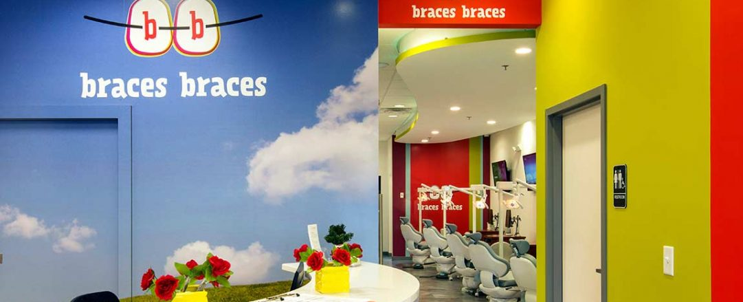 Family friendly orthodontist office lobby at Braces Braces in McDonough.